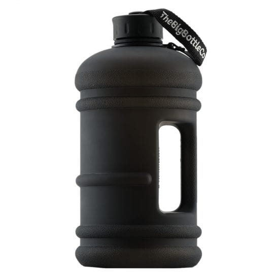 Jet Black BPA Free Water Bottle